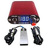 Solong tattoo New LCD Digital Tattoo Power Supply Foot Pedal  Clip Cord Kit P168-2