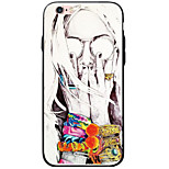 Pattern Sexy Lady TPU&Acrylic Soft Case For iPhone 6s Plus 6 Plus iPhone 6s 6 iPhone SE 5s 5