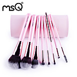 MSQ/eight double fiber cherry powder makeup brush MAO suit beginners barrel colour makeup tools