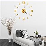 Moderno/Contemporâneo / Escritório/Negócio Casas / Família / Escola/Graduação / Amigos Relógio de parede,Inovador Acrilico / Vido