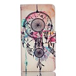 Full Body Card Holder / Wallet / Flip / Pattern Dream Catcher PU Leather Hard Case Cover For Lenovo Lenovo A6000