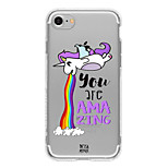 Unicorn 2  TPU Case For Iphone 7 7Plus 6S/6 6Plus/5 5S SE
