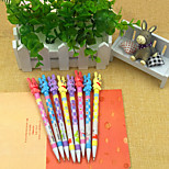Creative Cartoon Love Rabbit Press Pencil(12PCS)