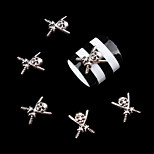 10Pcs  Nail art act the role ofing is tasted Exquisite pirates