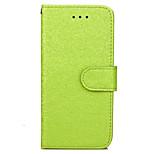 Per Custodia iPhone 7 / Custodia iPhone 7 Plus Porta-carte di credito / Con supporto / Con chiusura magnetica Custodia Integrale Custodia