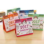 Cute Cartoon Calendar Convex Version