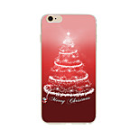 Per Custodia iPhone 7 / Custodia iPhone 6 / Custodia iPhone 5 Fantasia/disegno Custodia Custodia posteriore Custodia Natale Morbido TPU