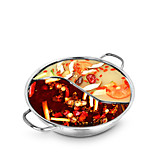 Stainless Steel Handle Without Lid Hot Pot 28cm