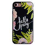 Für Muster Hülle Rückseitenabdeckung Hülle Blume Hart Acryl Apple iPhone 7 plus / iPhone 7 / iPhone 6s Plus/6 Plus / iPhone 6s/6