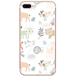 Para Funda iPhone 7 / Funda iPhone 6 / Funda iPhone 5 Ultrafina / Diseños Funda Cubierta Trasera Funda Animal Suave TPU AppleiPhone 7