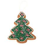 Christmas Tree Brown Foam Ornament