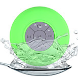 Water Resistant Mini Portable Shower Bluetooth Speaker with Sucker Support Hands-free Calls Function