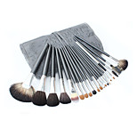 20 Makeup Brushes Set Professional / Portable Wood Handle Face/Eye/Lip