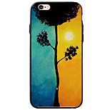 Scenery Pattern Acrylic&TPU Soft Case Back Cover For iPhone 6s Plus 6 Plus iPhone 6s 6 iPhone SE 5s 5