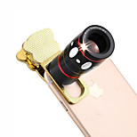 4 in 1 Universal Clamp Camera Lens(Telephoto Lens/Fisheye Lens/Wide Angle Lens/Macro Lens)