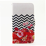 Rose Flower Pattern PU Leather Full Body Case with Stand and Card Slot for Wiko Lenny 2 Lenny 3 Sunset 2