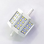 R7S 78mm 24x 2835SMD 6W Warm White / Cool White 600LM 220Beam Horizontal Plug Lights  Flood Light AC85-265V