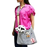 Cat Dog Carrier & Travel Backpack Sling Bag Pet Carrier Portable Casual/Daily Red Blue Cotton