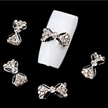 5Pcs   Nail Art Act The Role Ofing Is Tasted Sweet Bowknot Set Auger