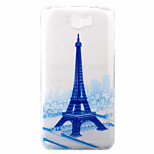 Tower Pattern Painted TPU Material Phone Case for Hawei Y5II  Y6 II