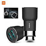 xiaomi roidmi 2s Bluetooth 4.2 Dual USB Car Charger Musik-Player w / app& mic