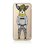 One  cool dog Pattern TPU Soft Case Cover for Apple iPhone 7 7 Plus iPhone 6 6 Plus iPhone 5 5C iPhone 4