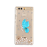 DIY Blue Butterfly Pattern PC Hard Case for Huawei P9 Plus LITE P8 LITE Honor 8 7 6 6Plus 5C 5X 4X 4C 4A Mate8 7