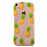 For iPhone 7 Case / iPhone 6 Case / iPhone 5 Case Ultra-thin / Pattern Case Back Cover Case Fruit Soft TPU AppleiPhone 7 Plus / iPhone 7