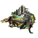Animals Dinosaur Wall Stickers 3D Landscape Decals Home Decor