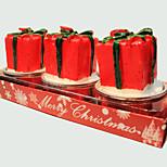 Christmas Candle Cute Little Gift Shape 3Pcs