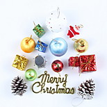Set of 16 pcs Christmas Tree Decoration