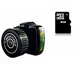 Mini Camera HY2000 Smallest Camera with 8G MicroSD