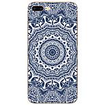Mandala Pattern TPU Material Case For iPhone 7 7plus