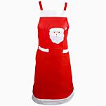 Papai Noel decoração de mesa de cozinha do avental do jantar decoração do partido casa natal avental partido avental