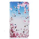 piccola copertura del telefono del materiale dell'unità di elaborazione modello di farfalla pittura per il LG K10 K8 K7