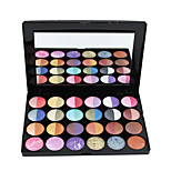 24 Eyeshadow Palette Shimmer Eyeshadow palette Cream Normal Daily Makeup