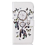 For Huawei P9 P9 Lite Card Holder Flip Color Dreamcatcher  Pattern Case Full Body Case Hard PU Leather