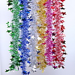 Christmas Decorative Ribbons 6 Pcs