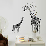 Animals / Still Life / Leisure Wall Stickers Plane Wall Stickers / Mirror Wall Stickers Decorative Wall Stickers,PVC Material Removable