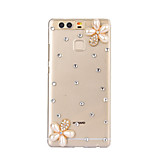 DIY White Flowers Pattern PC Hard Case for Huawei P9 Plus LITE P8 LITE Honor 8 7 6 6Plus 5C 5X 4X 4C 4A Mate8 7