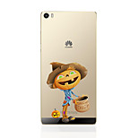 For Huawei Case / P9 / P9 Lite / P8 / P8 Lite Ultra-thin Case Back Cover Case Cartoon Soft TPU HuaweiHuawei P9 / Huawei P9 Lite / Huawei