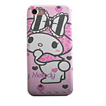 Rabbit Bow Pattern TPU Silk Material Pattern of Paste Skin Phone Case For iPhone 7 7 Plus