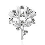 /Brooches/Inspirational/Wedding/Silver/Personality