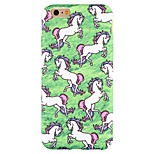 Para Funda iPhone 6 / Funda iPhone 6 Plus / Funda iPhone 5 Diseños Funda Cubierta Trasera Funda Dibujos Suave Silicona AppleiPhone 6s