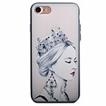 Sexy Beauty Pattern PC Plus TPU Material Phone Case For iPhone 7 7 Plus 6 6Plus
