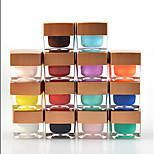 Nagellack UV Gel 8ml 12pcs/set UV Farbgel Tränken weg von Long Lasting