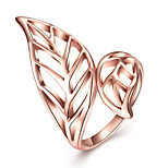 Ring Band Rings Jewelry Hallowas/Party/Daily/Wedding Fashion Tin Alloys/Rose Gold Plated Rose Gold 1pc Gift