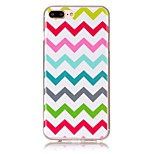 Para Funda iPhone 7 / Funda iPhone 7 Plus / Funda iPhone 6 Diseños Funda Cubierta Trasera Funda Líneas / Olas Suave TPU AppleiPhone 7