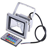 2200LM 85-265V /12-24V 20W Colorful RGB Infrared Remote Control Landscape Lamp