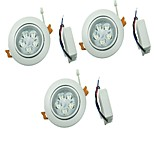 YouOKLight 3PCS 5W 5xLEDs Epistar  450lm  White/Warm White Ceiling Lamp  (AC 100-240V)